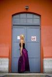 främre modell för dörr royaltyfri fotografi