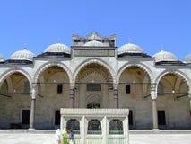 främre moské royaltyfri foto
