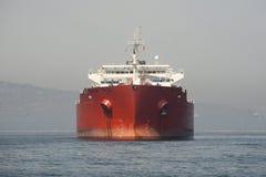 främre oljetankfartyg Royaltyfria Foton