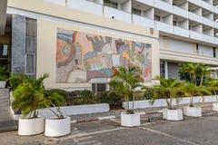 Främre sikt av det första hotellet Ibadan Nigeria fotografering för bildbyråer