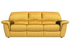 Främre sikt av soffan Arkivfoto