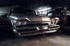 Främre sikt, DeSoto '59 Royaltyfria Bilder