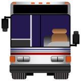främre sikt för buss Arkivbilder