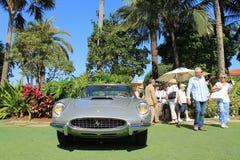Främre sikt för klassisk Ferrari 250 gt speciale Royaltyfri Fotografi