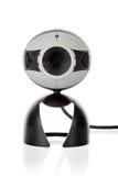 Främre sikt för video Webcam Arkivfoto