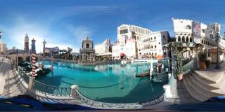 Främre sjö på det Venetian, Las Vegas Arkivbilder