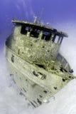 främre skeppsbrott royaltyfri fotografi