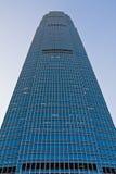 främre stor skyskrapa Royaltyfri Fotografi
