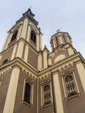 Främre torn av den Ortodox domkyrkan Fotografering för Bildbyråer