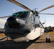 främre tung helikoptersikt arkivbild