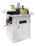 Fräsmaschine der Holzbearbeitung Stockfotografie