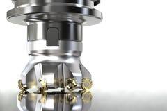 Fräsmaschine Höhenpräzision CNC lizenzfreie stockbilder