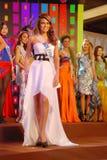 Fräulein Bolivien, das nationales Kostüm trägt Stockfotos