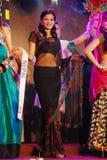 Fräulein Nepal, das nationales Kostüm trägt Lizenzfreie Stockfotografie