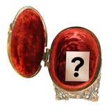 fråga för askfläckmetall Royaltyfri Foto