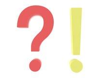 Fråga Mark Concept Graphic Arkivbild