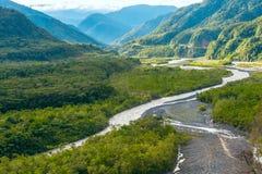 Från Anderna till amasonen Pastaza landskap Royaltyfri Bild