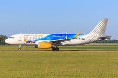 A320 från Brussel Royaltyfri Bild