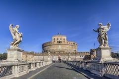 Från den Sant'Angelo bron Royaltyfri Bild