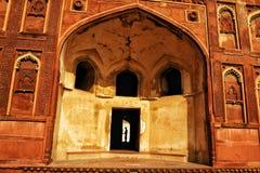 Från det Agra fortet Arkivbilder