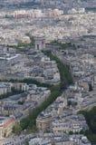 Från det Eifel tornet Arkivbild