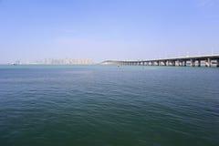 Från ett avstånd xinglinbro Arkivbild