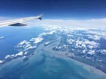 Från skyen Royaltyfri Bild