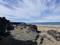 Från stranden till himlen Fotografering för Bildbyråer