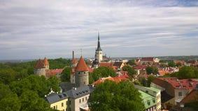 Från tornet Royaltyfri Foto