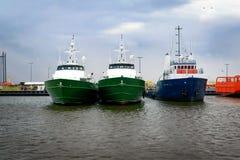 Frånlands- Crewboat Arkivfoto