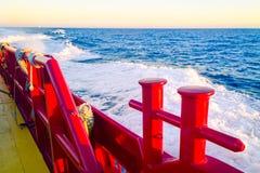 Frånlands- Crewboat Fotografering för Bildbyråer