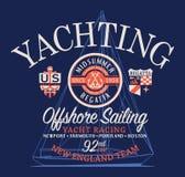 Frånlands- lopp för seglingregattasegling Royaltyfri Bild