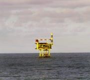 Frånlands- plattform - Goldeneye Royaltyfria Bilder