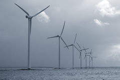 frånlands- wind för lantgård Royaltyfri Bild