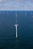 frånlands- windfarm Royaltyfri Bild