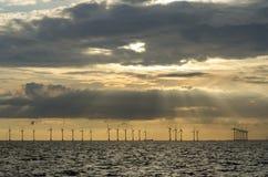 Frånlands- windfarm Lillgrund Royaltyfri Bild
