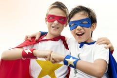 Frère Buddy Concept d'amis de super héros Photographie stock libre de droits