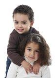 Frère et soeur Photographie stock libre de droits