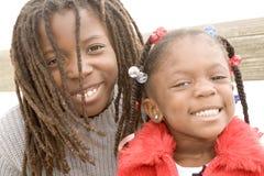 Frère et soeur Image libre de droits
