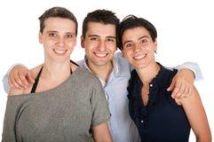 Frère et soeurs Photo libre de droits