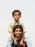 Frères asiatiques Photographie stock libre de droits