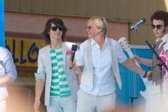 Frères d'Ellen et de Jonas Photos libres de droits