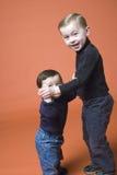 frères deux photo stock