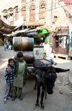 Frères pakistanais Photos libres de droits