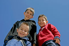 frères trois Image libre de droits