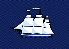 Frégate de bateau de navigation Photographie stock libre de droits