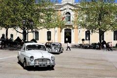 Frégate de Renault datant à partir de 1956 Photographie stock libre de droits