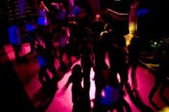 Frénésie de piste de danse Images libres de droits