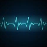 Fréquence cardiaque illustration de vecteur