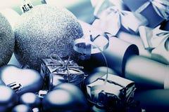 Frío de la decoración de la Navidad del Año Nuevo Fotografía de archivo libre de regalías
